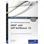 Livro: SAP Certified Development Associate – ABAP with SAP NetWeaver