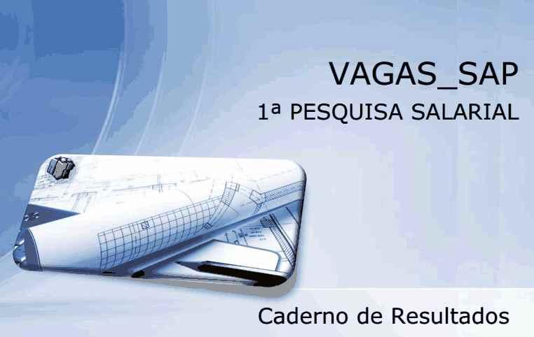pesquisa salarial sap 2012