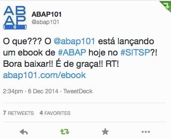 abap101 twitter ebook lançamento