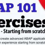 ABAP101 Lança ebook com 101 exercícios de ABAP